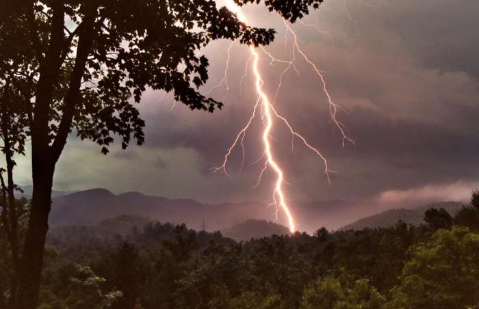 Mountain Lightning